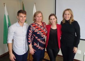 Eduardo Schroeder Vieira, Sonia Maria Schroeder Vieira, Giovana Schroeder Vieira e Isaura Telli da Silva