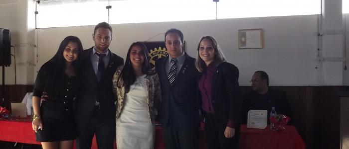 Marcela, Gabriel, Fernanda, André e Débora