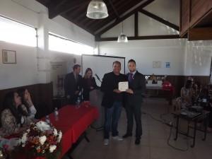Homenageado especial, chairman Fabio Perdigão