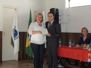Homenageada Sônia Maria Schroeder Vieira