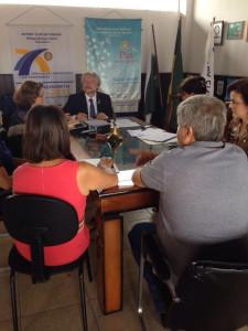 Reunião do governador com o Conselho diretor do clube