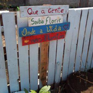 13 de setembro. horta comunitaria 1