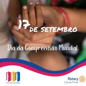 17 de setembro. Dia da Compreensao Mundial