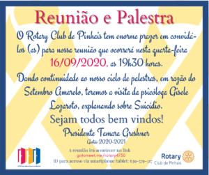 convite setembro amarelo para todos com nome da tamara