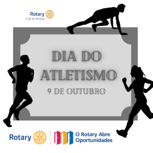 9 de outubro. dia do atletismo