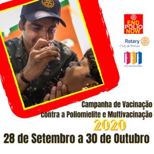 Campanha vacina polio 2020. 1