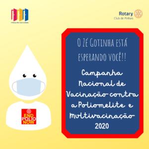 Campanha vacina polio 2020. 3