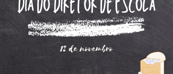 12 de novembro. dia do diretor de escola