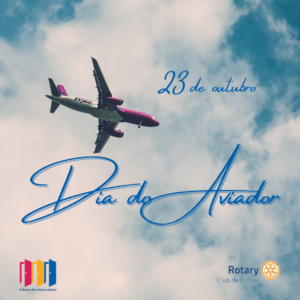 23 de outubro. dia do aviador