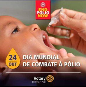 24 de outubro. dia do combate a polio