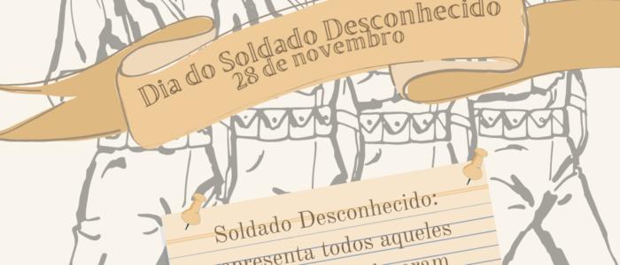 28 de novembro. dia do soldado desconhecido