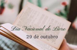 29 de outubro. dia nacional do livro