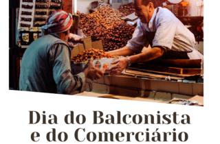 30 de outubro. dia do balconista e do comerciario