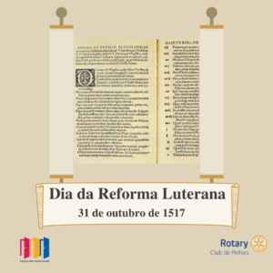 31 de outubro. dia da reforma luterana