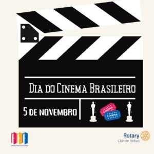 5 de novembro. dia do cinema brasileiro