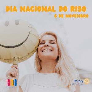 6 de novembro. dia nacional do riso