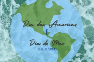 12 de dezembro. dia das americas e do mar