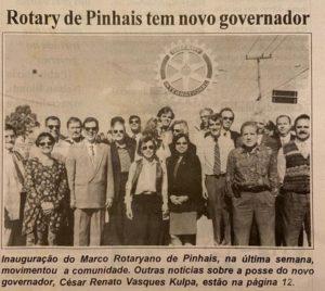 1996. Cesar Kulpa ;governador