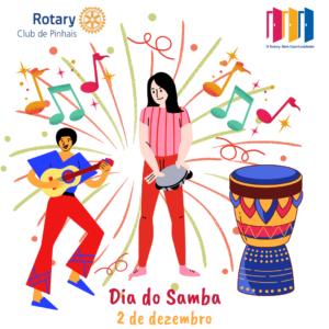 2 de dezembro. dia do samba