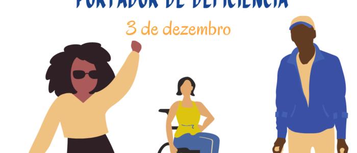 3 de dezembro. dia do portador de deficiencia