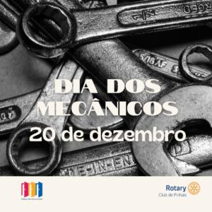 20 de dezembro. dia dos mecanicos