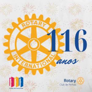 23 de fevereiro. aniversario do Rotary