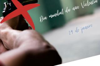 29 de janeiro. dia mundial da nao violencia