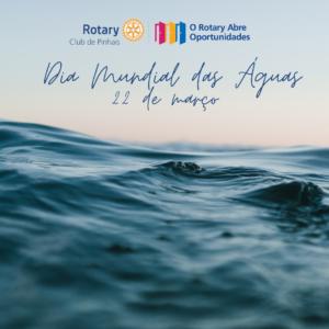 22 de marco. dia mundial das aguas