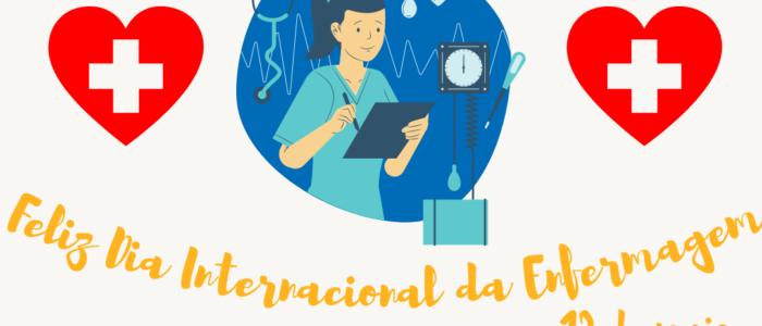 12 de maio. dia internacional da enfermagem